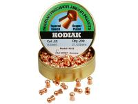 Beeman Kodiak Copper Plated .22 Cal, 21.12 Grains, Round Nose, 200ct