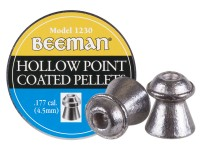 Beeman .177 Cal, 7.2 Grains, Hollowpoint, Coated, 500ct