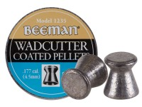 Beeman .177 Cal, 7.7 Grains, Wadcutter, Coated, 500ct