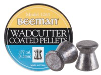 Beeman .177 Cal, 7.8 Grains, Wadcutter, Coated, 250ct