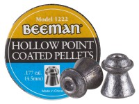 Beeman .177 Cal, 7.2 Grains, Hollowpoint, Coated, 250ct