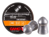 Gamo Airguns, Ammo, and Access Gamo TS-22 .22 Cal, 22 Grains, Round Nose, 200ct