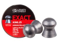 JSB Match Diabolo Exact King .25 Cal, 25.39 Grains, Domed, 150ct