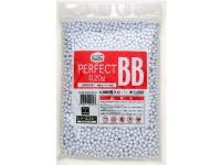 KSC/KWA 6mm perfect airsoft BBs, 0.20g, 4,000 rds, white