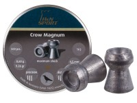 Haendler & Natermann H&N Crow Magnum .177 Cal, 9.26 Grains, Hollowpoint, 500ct