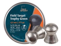 H&N Field Target Trophy Green .177 Cal, Lead-Free, 5.71 Grains, Domed, 300ct