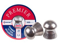 Crosman Premier .22 Cal, 14.3 Grains, Domed, 500ct