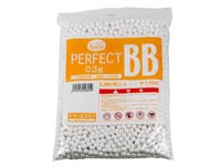 KWA Perfect 6mm airsoft BBs, 0.30g, 2200 rds, white