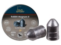 Haendler & Natermann H&N Rabbit Magnum II .22 Cal, 25.62 Grains, Cylindrical, Solid, 200ct