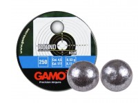Gamo Airguns, Ammo, and Access Gamo .177 Cal, 8.2 Grains, Round Lead Balls, 250ct
