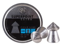 RWS Superpoint Extra .22 Cal, 14.5 Grains, Pointed, 200ct