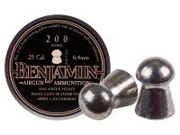 Benjamin .25 Cal, 27.8 Grains, Domed, 200ct