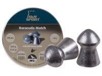 Haendler & Natermann H&N Baracuda match, .177 Cal, 10.65 Grains, Round Nose, 500ct