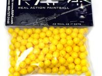 RAM RAP4 .43 Caliber Paintballs, Yellow, 250ct