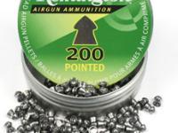Remington .177 Cal, 7.9 Grains, Pointed, 200ct