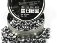 RWS Meisterkugeln Standard .177 Cal, 8.2 Grains, Wadcutter, 250ct