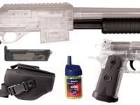 Crosman Stinger S32P & P36, Clear/Black Airsoft gun