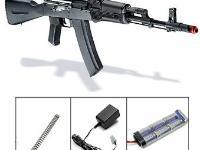 ICS AK74 AEG Kit 4 Upgraded - M120 Spring Airsoft gun