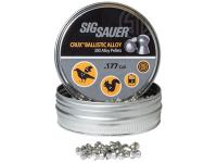 SIG Sauer Sig Sauer Crux Ballistic Alloy Pellets, .177 Cal, 5.56 Grains, Domed, 300ct