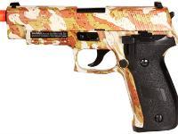 SIG Sauer P226 Blowback Gas Pistol, Camo Airsoft gun