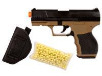 Crosman Stinger P9T Airsoft Pistol Kit, Holster Airsoft gun