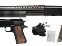 TSD T-Rex Shotgun & M1911 Combo Pack Airsoft gun