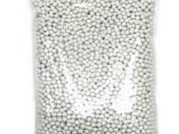TSD Tactical 6mm plastic bulk airsoft BBs, 0.20g, 125,000 rds, white