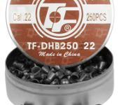 Tech Force .22 Cal, 15.04 Grains, Domed, 250ct