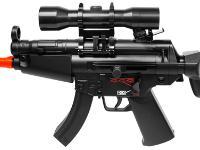 Umarex Combat Zone Airsoft Mini-5, Black Airsoft gun