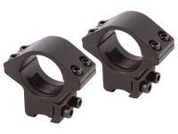 Air Venturi 1 inch Tactical Rings, Medium, 3/8 inch Dovetail, 4 Screws/Cap