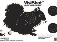 Champion VisiShot Paper Targets, Critter Series Squirrel, 16x11 - 10pk