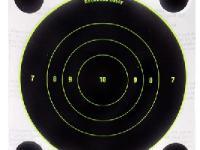 Birchwood Casey 8 inch Round Bullseye Shoot-N-C Targets (5)