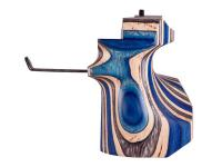 Anschutz Pistol Grip, Left-Hand, Laminated Blue, Med, Fits 8002-S2 Aluminum Stock