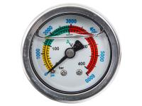 Air Venturi Air Pressure Gauge, 6,000 psi