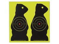 Beeman Shoot-N-C Prairie Chuck Targets, 7 inch, 3 inch Bullseye, 12ct