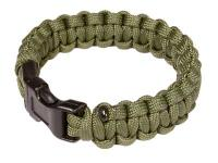 Air Venturi Paracord Bracelet, Green, Extra Large