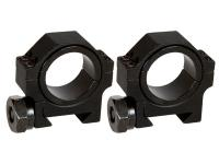 AIM Sports 30mm Rings, Low, Weaver/Picatinny, 1 inch Insert