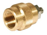 Air Arms PCP Adapter, 1/8 inch BSPP Male to DIN Female