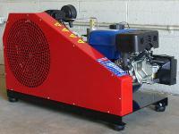 AireTex 45 Gasoline Air Compressor, Max 4500 PSI, Incl. Scuba Yoke & 300 DIN Hose