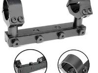 B-Square 17420 Interlock Adjustable AA 1-Pc Mount w/1 inch Rings, High, 11.7 mm Dovetail, Fits Webley Patriot