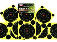 Birchwood Casey Shoot-N-C Bullseye Targets, 3 inch Bullseye, 36 Targets + 108 Pasters