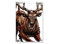 Birchwood Casey Zombie Deer Darkotic Blood Trail Splattering Target, 12 inchx18 inch, 8ct
