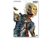 Birchwood Casey Zombie Darkotic Fine Print Splattering Target, 12 inchx18 inch, 8ct
