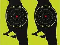 Beeman Shoot-N-C Crow Targets, 8 inch Round, 3 inch Bullseye, 12ct