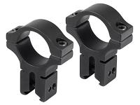 BKL 1 inch Rings, 3/8 inch or 11mm Dovetail, High, Matte Black