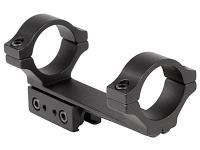 BKL 1-Pc Mount, 30mm Rings, 3/8 inch or 11mm Dovetail, 4 inch Long, Offset, Matte Black