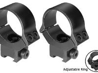 B-Square 10130 30mm Interlock Adjustable Rings, 11mm Dovetail