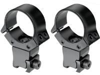 B-Square 10037 1 inch Interlock Adjustable Rings, High, 11mm Dovetail
