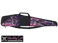 Bulldog Pinnacle Rifle Case, Moonshine Muddy Girl Camo, 48 inch