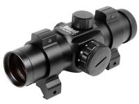 Bushnell Trophy 1x28 Red Dot Sight, 30mm Tube, 6 MOA, Weaver Rings